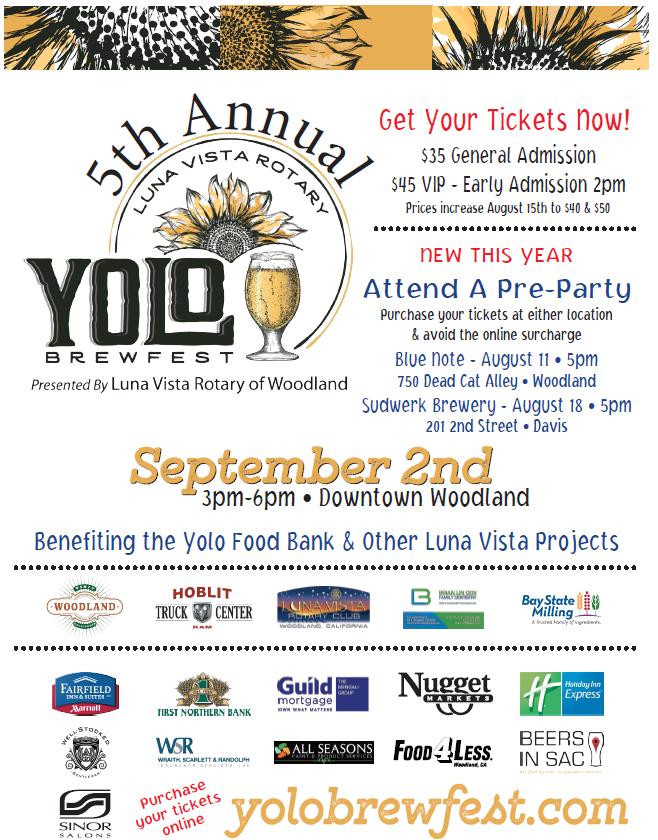 5th Annual Yolo Brewfest